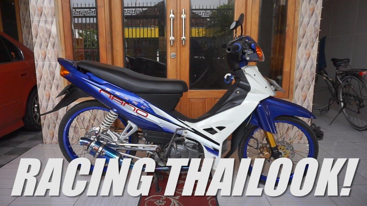 Review Yamaha Vega R New Modifikasi Simple Racing Thailook Indonesia 2017