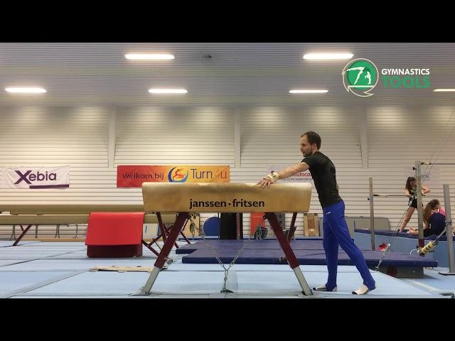 Tong Fei Drills & Exercises Pommel Horse Gymnastics