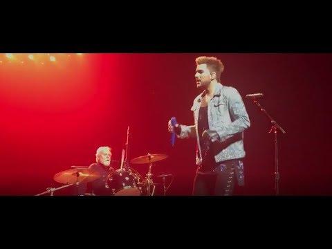 Queen + Adam Lambert Under Pressure (partial) -  Toyota Center