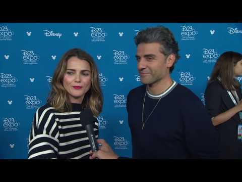 d23-expo-2019:-disney-studios---star-wars-the-rise-of-skywalker,-russell-&-isaac