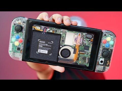 DIY Clear Nintendo Switch!