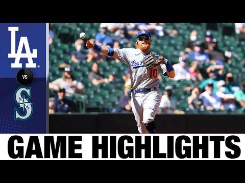 Dodgers vs. Mariners Game Highlights (4/20/21) | MLB Highlight