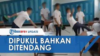 Viral Video 3 Siswa SMP di Purworejo Bully Teman Perempuannya, Tendang hingga Pukul dengan Sapu Ijuk