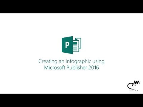 Creating an infographic using Microsoft Publisher 2016
