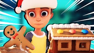 CLAY GINGERBREAD MEN and PLAY DOH PUZZLES! - Claybook Gameplay