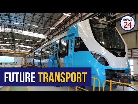 WATCH: Ekurhuleni is the 'engine of economic growth' - Ramaphosa at launch of train plant