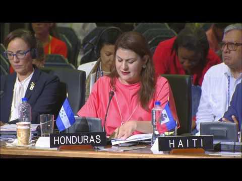 21-06-2017 Honduras apoya la paz en Venezuela