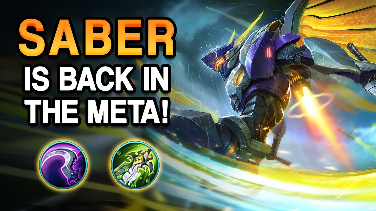 WOW! THIS IS WHY THE  REVAMPED SABER IS SO GOOD | Mobile Legends