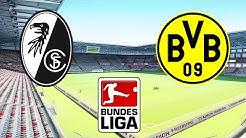 SC Freiburg vs Borussia Dortmund - 05.10.2019 ⚽ 7.Spieltag - Bundesliga 2019/2020   PES 2020