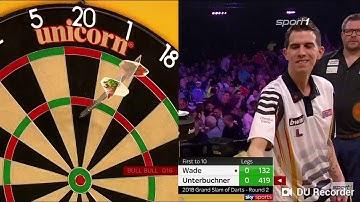 SENSATION!!!   Grand Slam Of Darts 2018 Achtelfinale James Wade vs Michael Unterbuchner