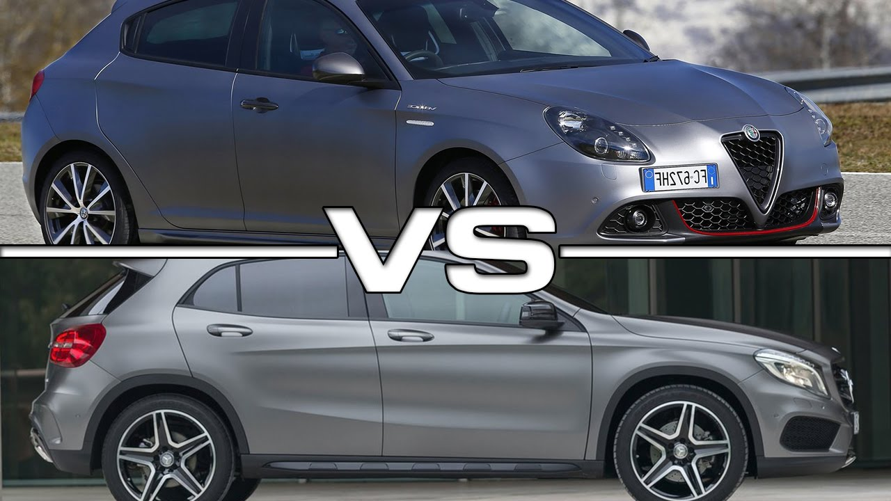 Alfa romeo giulietta veloce vs mercedes gla road test for Alfa romeo vs mercedes benz