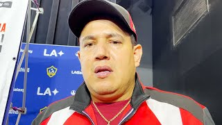 "EDDY REYNOSO ADMITS WILDER FIGHT FOR ANDY RUIZ IS DANGEROUS ""WE GOTTA WORK HARD FOR THAT ONE"""