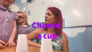 Magic cup maths!