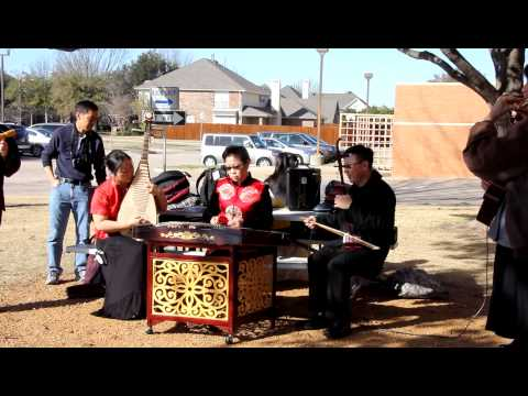 Chinese Folk Music Instruments Band  New Year 2013  Library Rehearsal