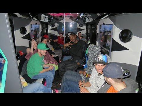 Ghetto Hood 420 Moth Party Bus 810 Flint Michigan
