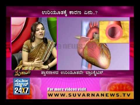 Seg 2 - Suhaasini - 11 Jan 12 - Bronchitis Problem - Suvarna News