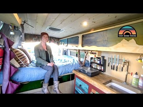 She Got A Campervan To Escape California Rent & Pursue A New Career