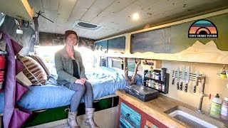 She Got A Campervan To Escape California Rent & Pursue A New Career