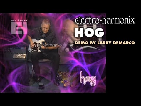 HOG - Demo by Larry DeMarco - Harmonic Octave Generator/ Synthesizer
