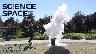 Fire + Liquid Nitrogen = ? | Ask Science Space #1