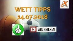 Fußball Wett-Tipps für morgen 10. Juli 2018 - kostenlose Vorhersagen und Prognosen