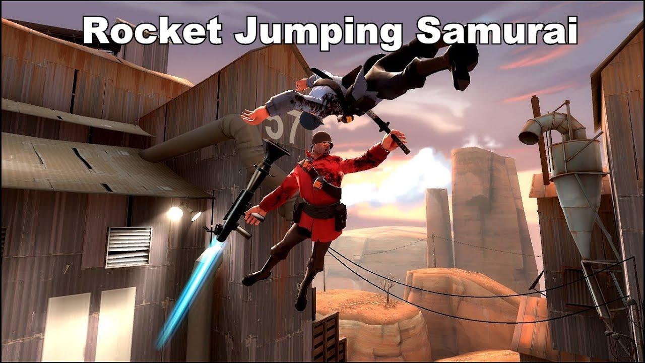 Zatoichi Sword TF2: Rocket Jumping Sa...