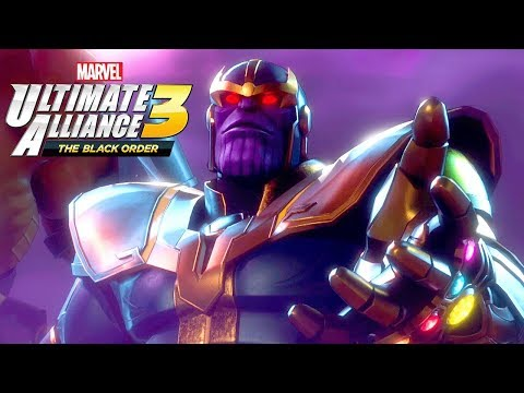 Marvel Ultimate Alliance 3 #02 - Thanos viu o Futuro dos Avengers? (Gameplay PT-BR Português)