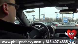 Phillips Chevrolet - 2015 Chevy Camaro SS - Test Drive - Chicago New Car Dealership