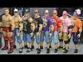 THE EVOLUTION OF JOHN CENA | WWE FIGURES