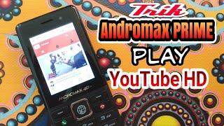 Trik Andromax Prime play YouTube HD