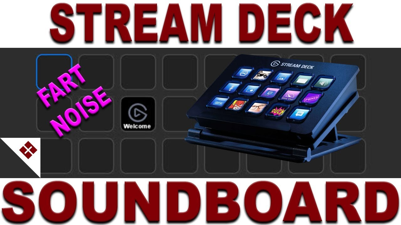 How to use Elgato Stream Deck as a Soundboard Using Soundpad, Use With  Games and Discord