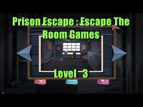 Prison Escape : Escape The Room Games - Level 3 - побег из тюрьмы : дом побег страха