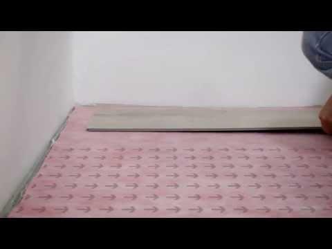 b!design by Bauhaus - UniFit Vinyl floor Installation