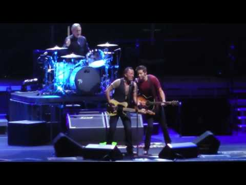 Bruce Springsteen No Surrender with College Fan Matthew Aucoin from Texas A&M