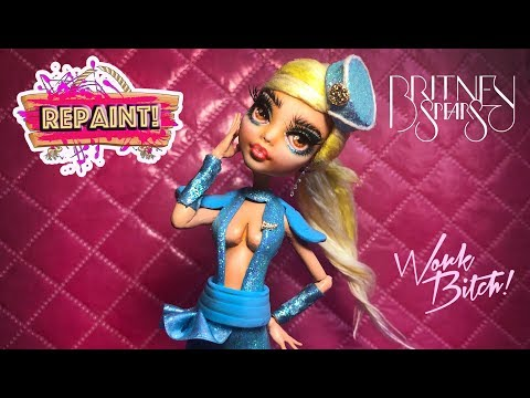 Ooak Doll Tutorial Britney Spears Repainting Gay Pride Youtube