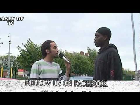 Dr Funny Q & Q TV   Fight in Manchester  2009 AKO KO  LOL