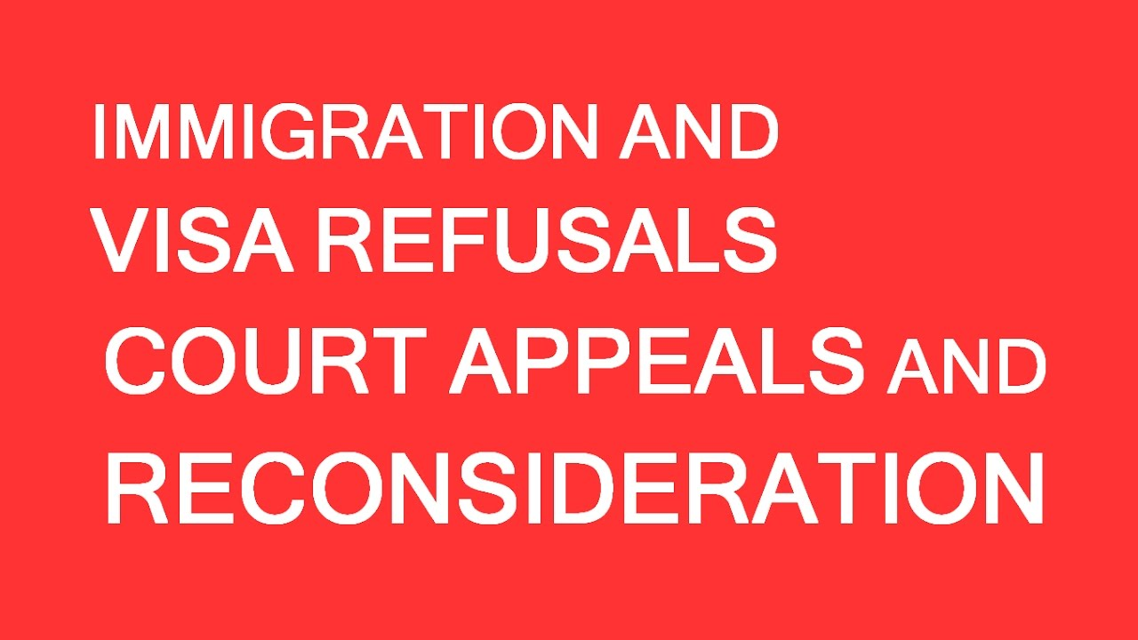 Appeals And Reconsideration Of Refusals Lp Group Canada Youtube