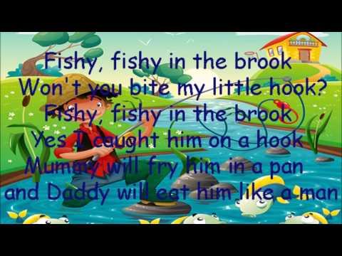 fishy fishy in the pond