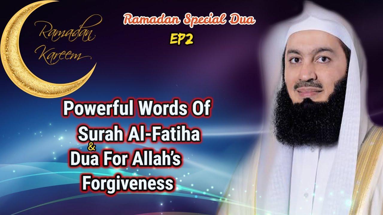 Powerful Words Of Surah Al-Fatiha & Dua For Allah's Forgiveness| Ep #2 SFR  | Ramadan 2018