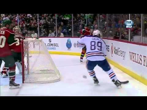 YTP NHL play of the week: Sam Gagner scores unusual goal from the behind the net