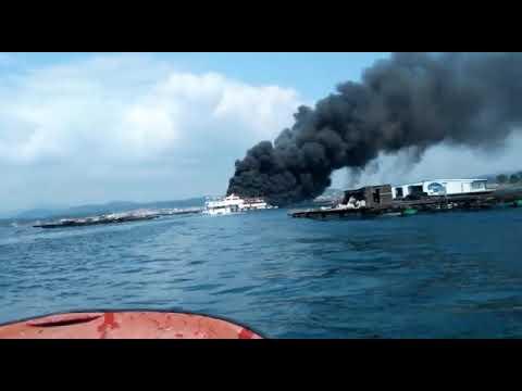 Vídeo: Los marineros de O Grove se lanzan al rescate