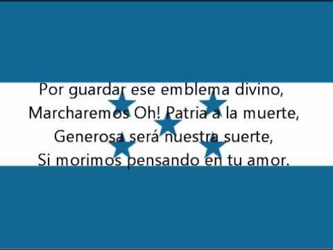 Hymne national du Honduras
