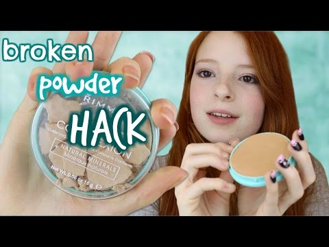 DIY Hack, How to Fix a Broken Compact Powder | Nilipod