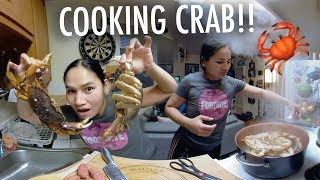 COOKING CRAB!! (360° VR)