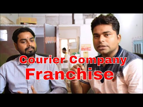 How to Take Courier Company Franchise