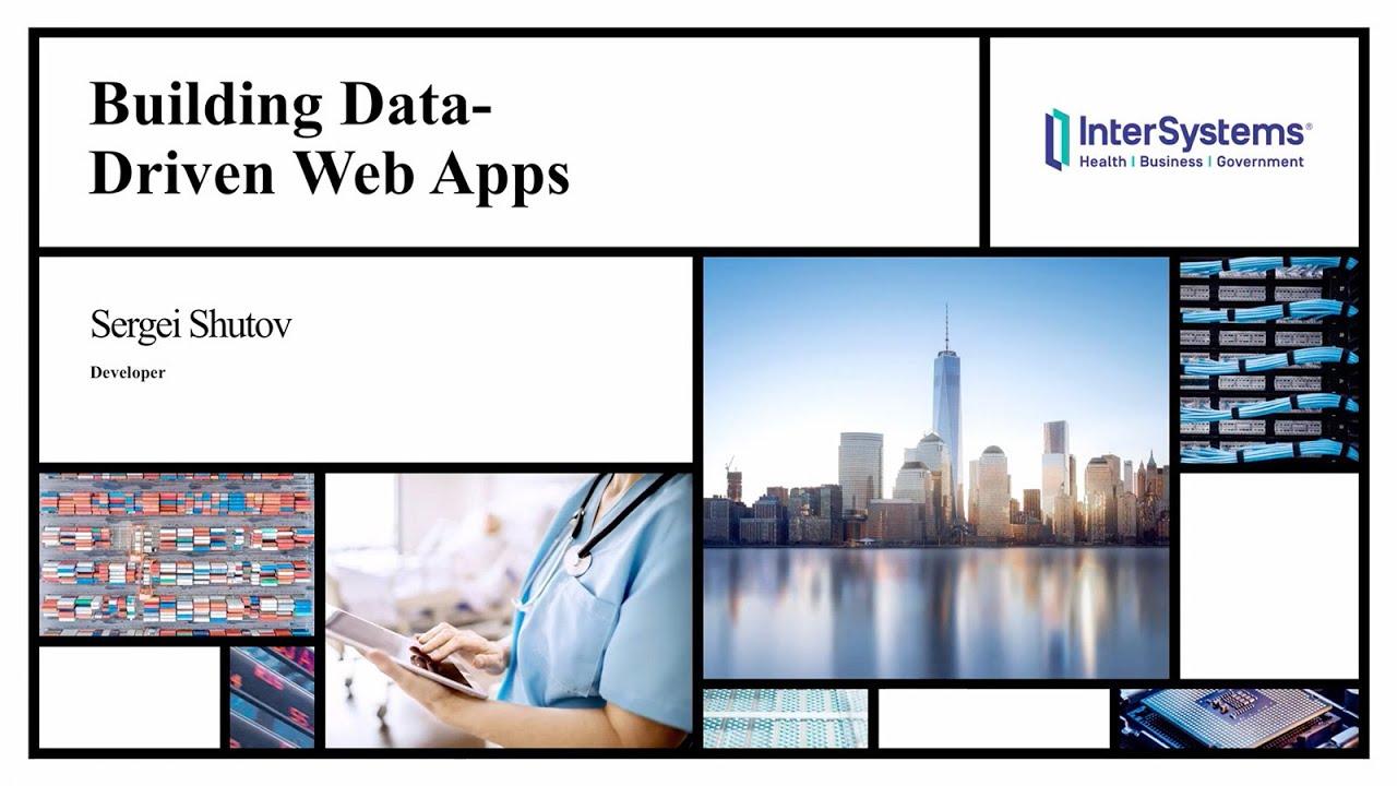 Building Data-Driven Web Apps