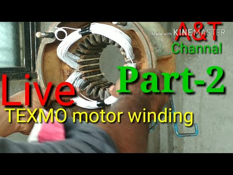 live texmo submersible motor winding panpudi part 2 youtube. Black Bedroom Furniture Sets. Home Design Ideas
