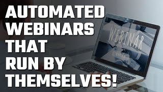 ⚙️ Automated Webinars that Run by Themselves!