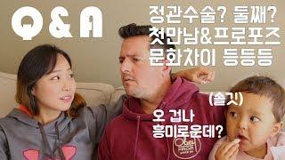 Q&A   국제커플 결혼생활 우리 부부 관련 질문과 답변   벨라진 bella jin