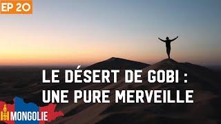 PAYSAGES INCROYABLES EN MONGOLIE : Flaming cliffs et dune de sable- #20